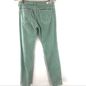 Ag Adriano Goldschmied Jeans - AG Stevie mint green